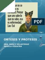 Ortesis y Protesis Generalidades