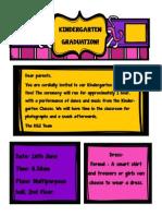 parent invitation kg2e and kg2f