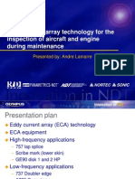 Eddy Current Array Technology for the Inspection of Aircraft and Engine