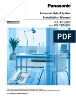 PABX KX TES824 Installation_Manual