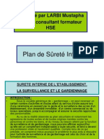 1-Plan de Sûreté Interne
