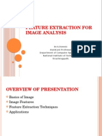 Feature Extraction for Image Analysis