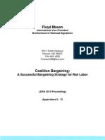 Coalition Bargaining - Appendices 0-12