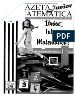 Gazeta Junior Matematica Mai 2010 Clasa 3 Si 4