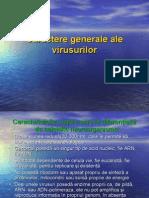Curs Virusologie. Caractere Generale