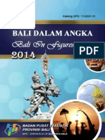 Bali Dalam Angka 2014