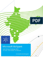 Microsoft Bizspark India Startup Challenge 2013 30Startup Winners