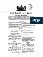 Rules for the Administration of Forests and Waste-lands in the territories of His Highness the Maharaja of Mysore published under the Notification of the Governer General of India in Council No. 588F dated 8th June 1878