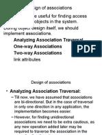 Design of Associations(7)
