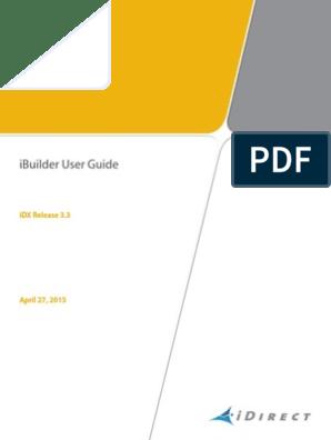 UGiBuilder User Guide IDX 33Rev C04242015 | Domain Name System