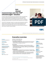 Cox Communications - Supercharging Customer Relationships With the SAP InfiniteInsight Solution