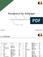 150421 Romänisch Für Anfänger No.1