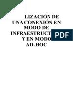 Infraestructura y Ad-hoc