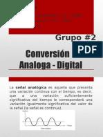 Conversión Analoga - Digital (Redes de Computadora)