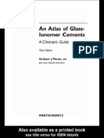 An Atlas of Glass-Ionomer Cements- A Clinician's Guide, 3rd Edition
