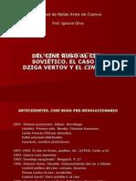 10. DEL CINE RUSO AL CINE SOVIÉTICO.ppt