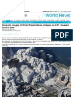 Dramatic Images of World Trade Centre Collapse on 911 Released for First Time