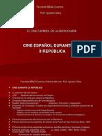 13. CINE ESPAÑOL EN LA II REPÚBLICA