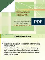 Analisis Sensitivitas