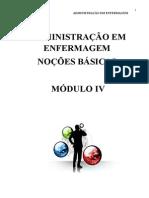 Apostila de Administração- 2014.2 - Prof Luciana Módulo IV