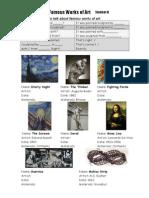 FamousArtists - Past Passive Information Gap