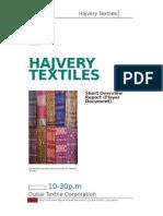 Hajvery Textiles.docx