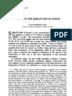 Masal in Similitudes of Enoch