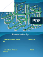 Project Report on PIA ( Causes of Loss )