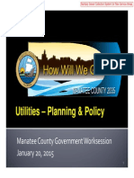 Manatee County Utility Planning Presentation