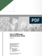 [Cisco Press] CallManager Admin Guide