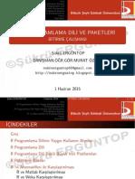 2015 - Şukru Ergüntop - R Programlama SUNU