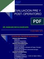 Evaluacion Pre y Postoperatorio