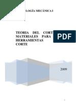 Guia de Teoria Del Corte y Metales Para Las Herramientas de Corte
