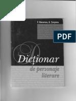 Dictionar de Personaje Literare