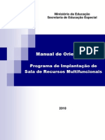Manual Da Sala de Recursos Multifuncionais