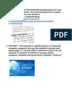 internetrelatedterms doc