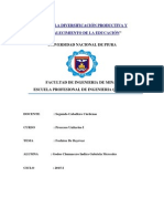Fosfatos de Bayovar- Procesos Unitarios 1