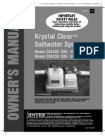 Manual Krystal Clear Saltwater System ENG