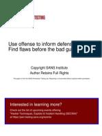 SANS - GPON Security Analysis vs Cisco