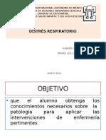 Distres Respiratorio SDR