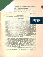Tantraraja Tantra a Short Analysis 1956. Ganesh & Co - Sir Jone Woodroffe_Part2