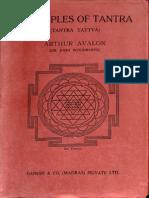Principles of Tantra - Tantra Tattva. 1960 Ganesh & Co - Arthur Avalon_Part1