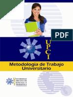 Metodologia de Trabajo Universitario