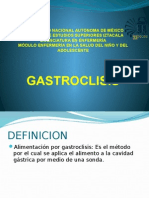 gastroclisis