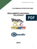Reglamento Nacional de Velocidad