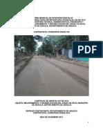 5. Informe Mensual No 05 de Interventoria - Diciembre 2013