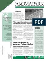Takoma Park Newsletter - June 2015