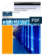 Follow the Money - Big Data ROI and Inline Analytics