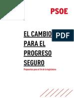 Propuestas del PSOE para el final de legislatura (PDF)