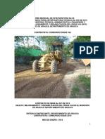 6. Informe Mensual No 06 de Interventoria - Enero 2014
